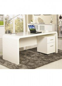 Huali Aspen Executive Desk + Mobile