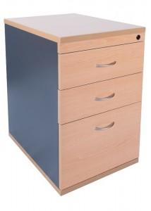 express desk height pedestal