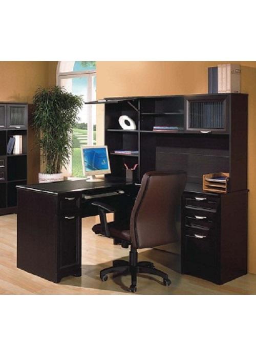 Huali Winton Corner Desk With Hutch Ideal Furniture