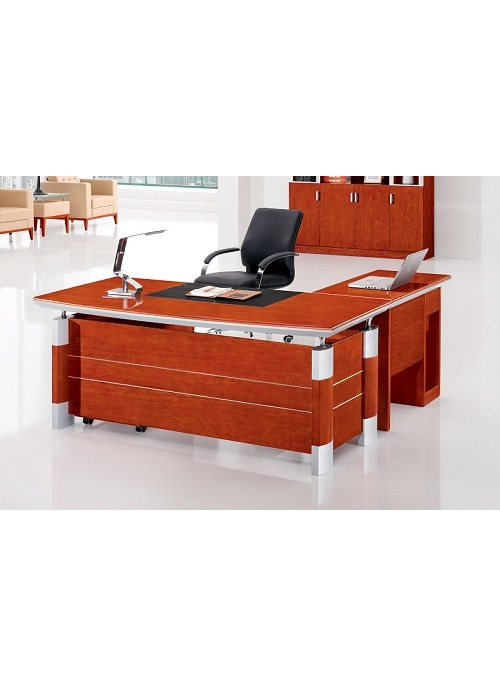 Coo 1800 corporate desk set ideal furniture Timber home office furniture brisbane