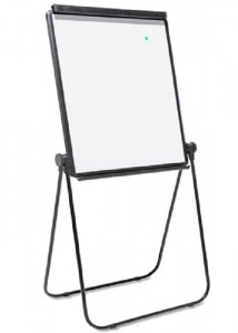 vc flipchart with rotating screen