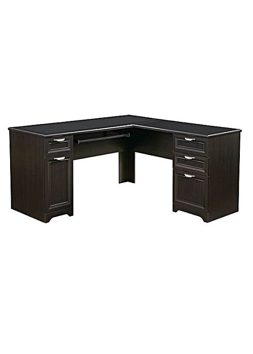 Huali Winton L-Shape Desk - Ideal Furniture