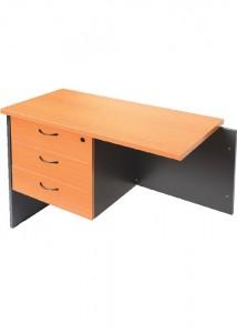 fx 3 drawer pedestal