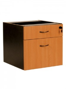 YS Storage DF 1Draw + 1File Fixed Pedestal