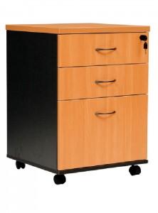 YS Storage MP 2Draw + 1File Mobile Pedestal