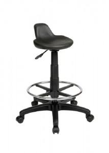 Industrial Drafting Stool - Ideal Furniture