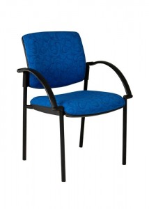 Visitor Chair With Arms - Ideal Furniture