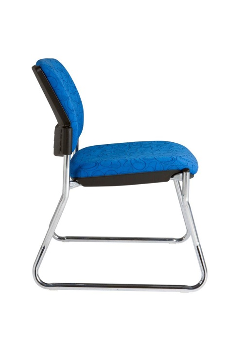 Style Maxi Sled Base Visitor Chair Ideal Furniture