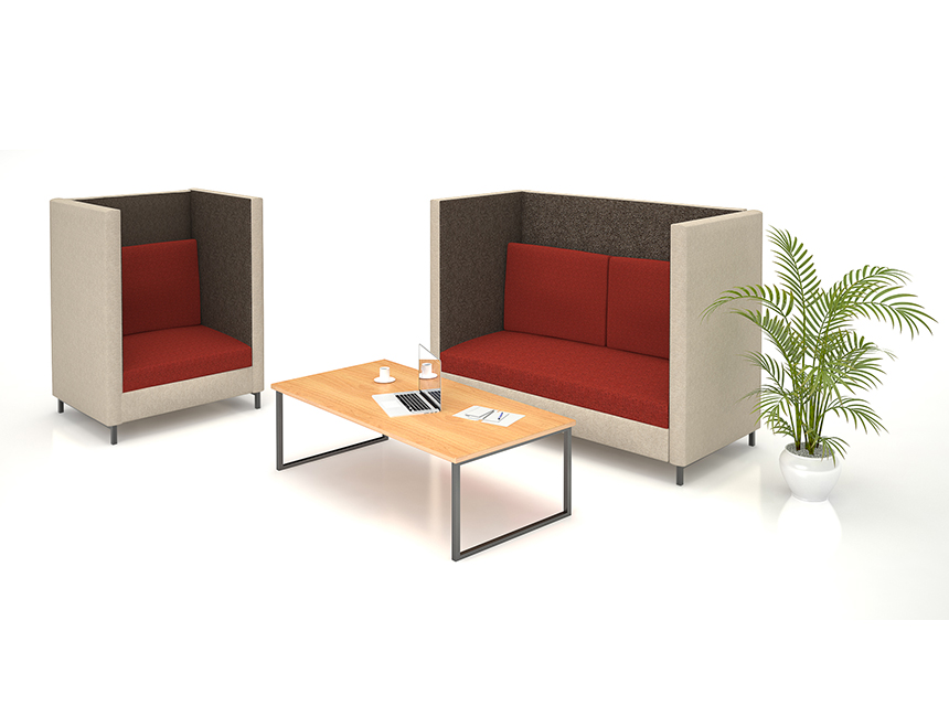 Dia Acousit 2 Seater Lounge Ideal Furniture