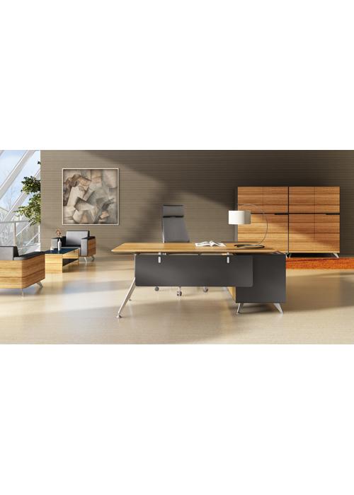Gp Novara Office Desk With Return Ideal Furniture