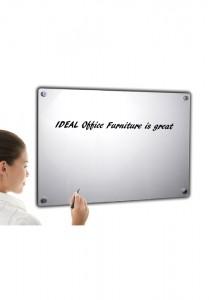 Silver glassboard 500x700