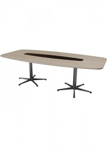CM Avalon boardroom table with insert