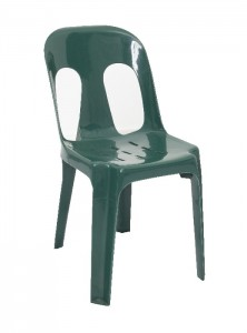 FX Visitor Chair Pipee Green