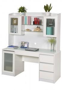 Huali Aspen Credenza Desk & Hutch