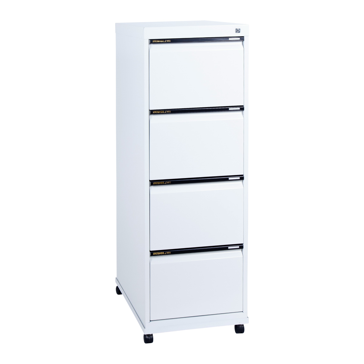 ... Sw4 Statewide 4 Drawer Filing Cabinet Mobile Frame  ...