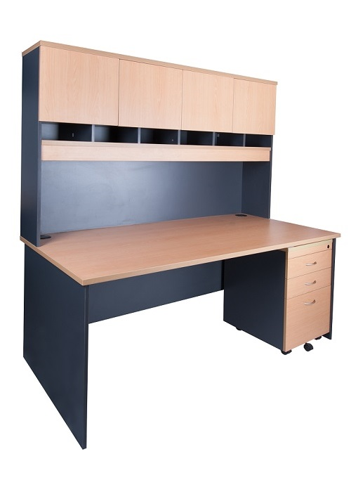 Express 1800 Desk And Hutch Package Ideal Furniture