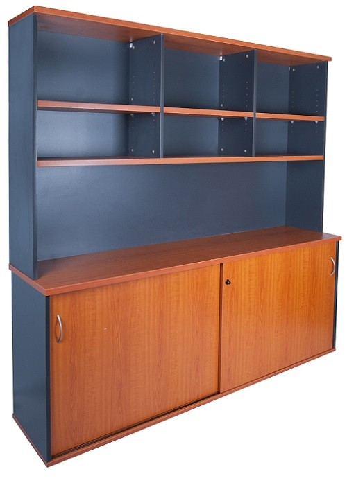 express 1800 desk & hutch package