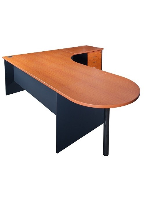express curved desk package