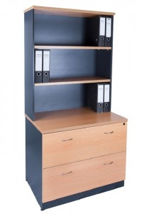express filing with bookcase