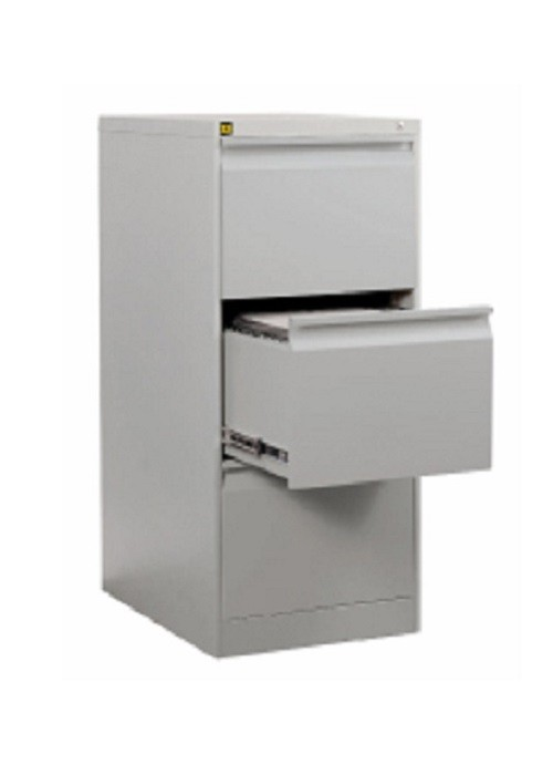 kis metal 3 draw filing cabinet