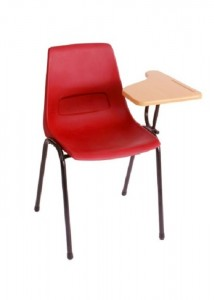 matic shell lecture chair