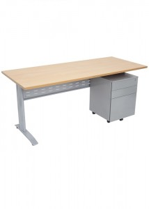 fx metal frame desk 500 x 700