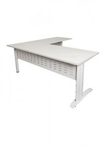 Open desk and return white top White Legs
