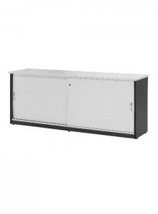 YS Storage CZ18 Credenza White