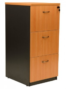 YS Storage FC3 3 Drawer Filing Cabinet