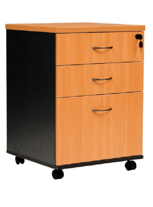 YS Storage MP 2Draw + 1File Mobile Pedestal