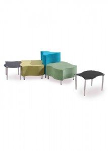 Linkable Lounges and Tables - Ideal Furniture
