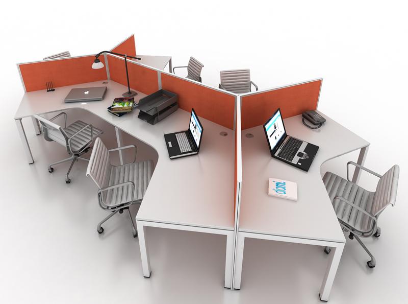 Dia Gen Y Back To Back Workstation Ideal Furniture