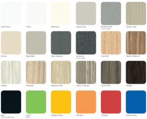 Desk Colours - Ideal Furniture