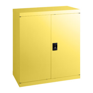 swec1020-statewide-1020h-economy-stationery-cupboard-lemon-yellow