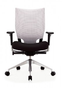 White Mesh Chairs - Ideal Furniture