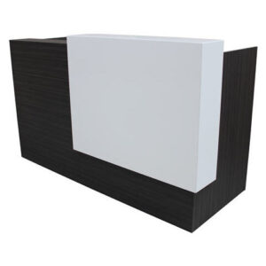 Black Reception Counters - Ideal Furniture