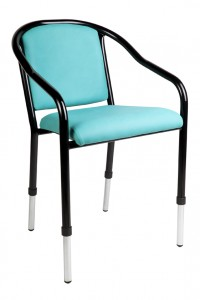 Adjustable Leg Chair - Ideal Furniture