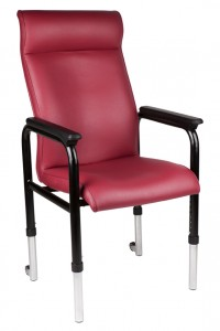 Adjustable Legs Visitor Chair - Ideal Furniture