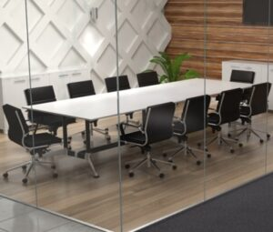 White Boardroom Tables - Ideal Furniture