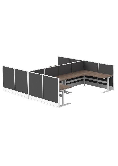 C50ACT058-Activ-Cubit-50-Four-Person-Corner-Cluster-12-Screens-Workstation-Cluster