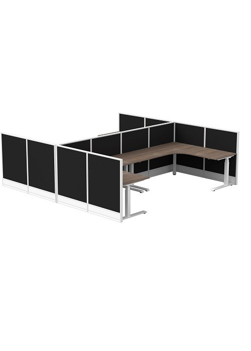 C50STR058-Strata-Cubit-50-Four-Person-Corner-Cluster-12-Screens-Workstation-Cluster