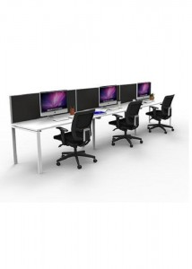 3 Person Single Sided with Screens Profile Leg