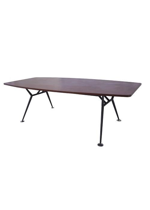 VMBT2412-A-Black-Metal-Frame-Boat-Shaped-Boardroom-Table-1000x526
