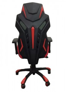 racer chair white back 2