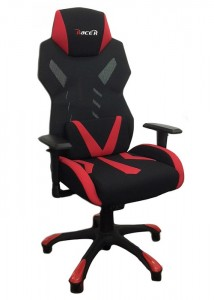 racer chair white back