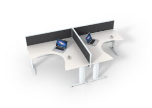 ID Rapid 2 person workstation 1500 size