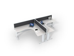ID Rapid 2 person workstation 1800 size