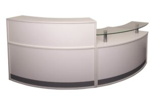 Modular Reception Counter Half Set Opposite