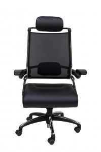DDK tektron executive PU leather mesh chair front
