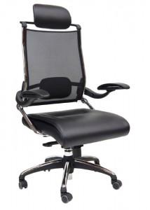 DDK tektron executive PU leather mesh chair
